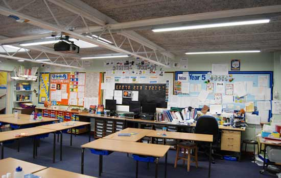 LED chalkboard lights and classroom light become the mainstream of future schoolhouse lighting