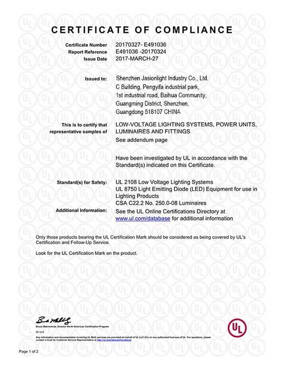 Certificate-Jasionlight