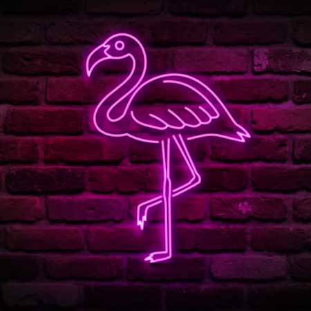 flamingo-neon-light